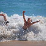 海で泳いでて気づいた。クロール以外も練習したほうがいい